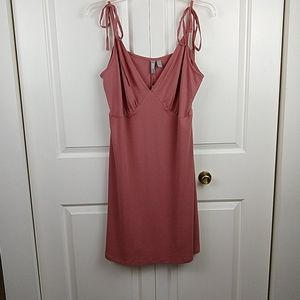 Asos Ribbed Shoulder Tie Dress 14